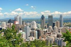Montreal linia horyzontu Zdjęcie Royalty Free