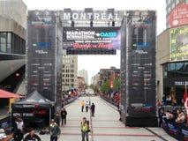 Montreal-Marathon stockbilder