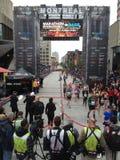 Montreal marathon royalty free stock images