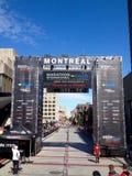 Montreal maraton arkivfoton
