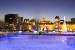 Montreal Marche Bonsecours Market Stock Image