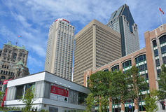 Montreal Marriott Chateau Champlain Hotel Stock Image