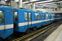 Montreal Metro Subway Royalty Free Stock Photo