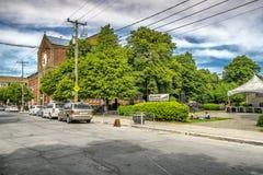 Montreal miasta scena obraz stock