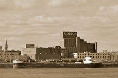 Montreal Molson Factory Stock Photography