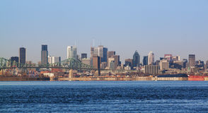 Montreal in the morning Royalty Free Stock Photography