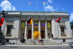The Montreal Museum of Fine Arts Stock Photo