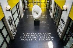 Montreal-Museum von schönen Künsten stockbilder