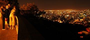 Montreal nachts Lizenzfreie Stockfotos