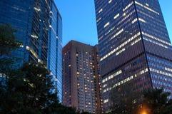 Montreal nachts Lizenzfreie Stockfotografie
