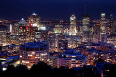 Montreal nachts Stockfoto
