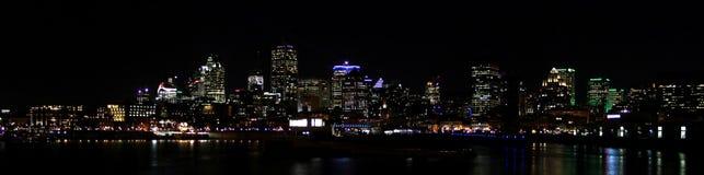 montreal natt Royaltyfri Bild