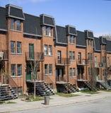 Montreal neighbourhood Zdjęcia Stock