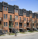 Montreal neighbourhood Stock Photos