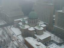 Montreal śnieg Zdjęcie Royalty Free