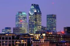 Montreal at night Stock Photo