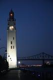 Montreal at night. Royalty Free Stock Image