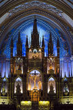 Montreal Notre-Dame Basilica Royalty Free Stock Photo
