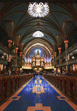 Montreal Notre Dame Basilica Stock Images