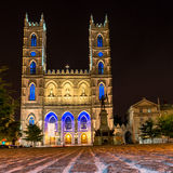 Montreal Notre Dame Basilica Stock Image
