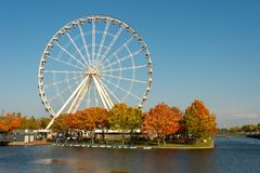 The Montreal Observation Wheel royalty free stock photography