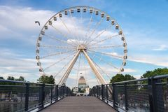 Montreal Observation Wheel stock photos