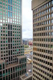 Montreal Office Buildings Royalty Free Stock Images