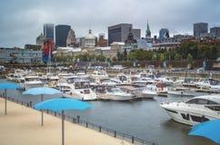 Montreal Old Port scene Stock Image