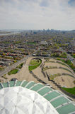 Montreal Olympic Park Stock Images