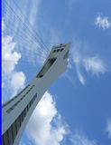 Montreal Olympic Park Tower Royalty Free Stock Photo