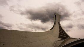 montreal olympic stadion royaltyfria foton