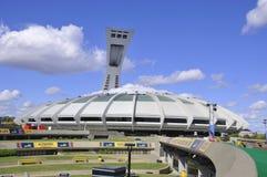 montreal olympic stadion Fotografering för Bildbyråer