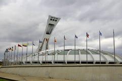 montreal olympic stadion Royaltyfri Foto