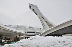 montreal olympic stadion Royaltyfria Bilder