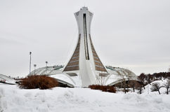 montreal olympic stadion Royaltyfri Fotografi