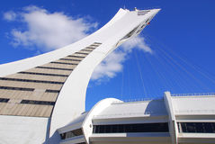 montreal olympic stadion Royaltyfria Foton