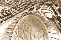 montreal olympic stadion Arkivbild
