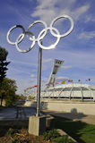 The Montreal Olympic Stadium Stock Photos