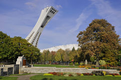 The Montreal Olympic Stadium Stock Image