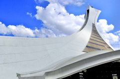 The Montreal Olympic Stadium Royalty Free Stock Image