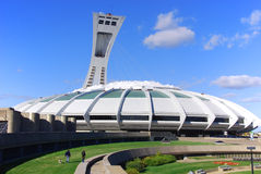 The Montreal Olympic Stadium Stock Images