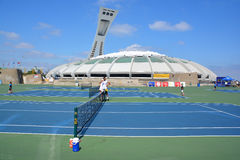 Montreal Olympic Stadium Royalty Free Stock Photos