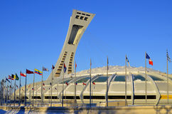 The Montreal Olympic Stadium Royalty Free Stock Photos
