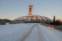 The Montreal Olympic Stadium Stock Photo