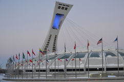 The Montreal Olympic Stadium Royalty Free Stock Photos
