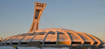 The Montreal Olympic Stadium Royalty Free Stock Photo