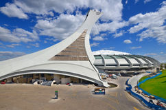 The Montreal Olympic Stadium Stock Photography