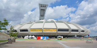 Montreal Olympic Stadium and tower Stock Photography