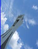Montreal-olympischer Park-Kontrollturm Lizenzfreies Stockfoto