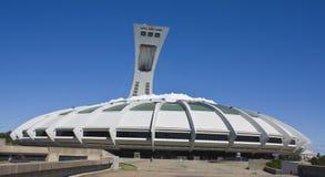 Montreal-olympisches Stadion stockbild